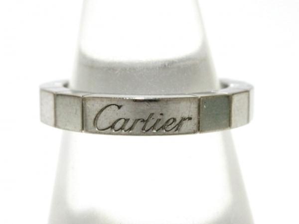 Cartier(カルティエ) リング 47 ラニエール K18WG 総重量:5.7g