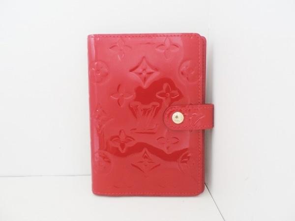 ルイヴィトン 手帳 モノグラムヴェルニ アジェンダPM R21016 ポムダムール