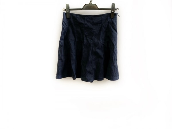 theory(セオリー) スカート サイズ00 XS レディース美品  ダークネイビー