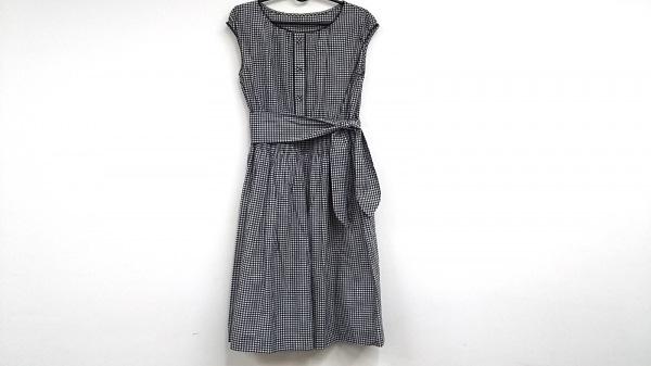 ストロベリーフィールズ ワンピース サイズ2 M レディース美品  黒×白