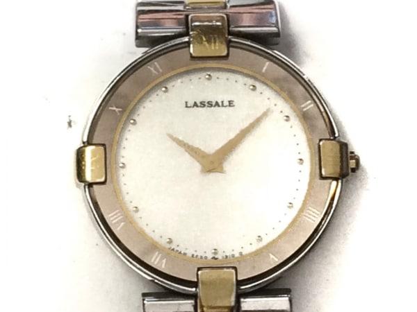 SEIKO LASSALE(セイコーラサール) 腕時計 2F50-0180 レディース 白