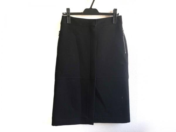 LANVIN(ランバン) スカート サイズ38 M レディース美品  黒 River2015