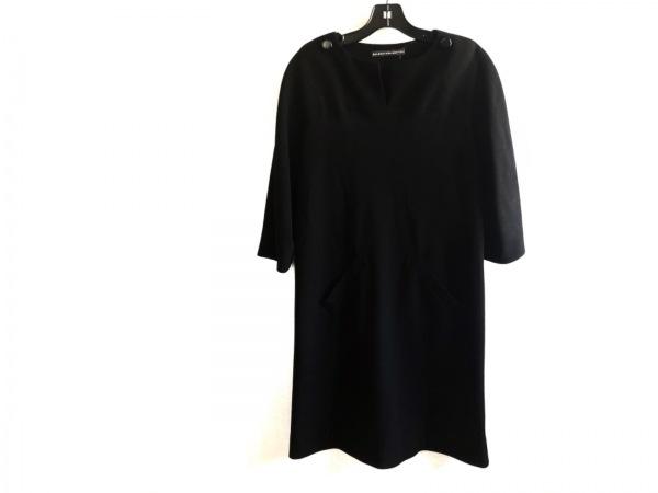 BALENCIAGA(バレンシアガ) ワンピース サイズ38 M レディース美品  黒 EDITION