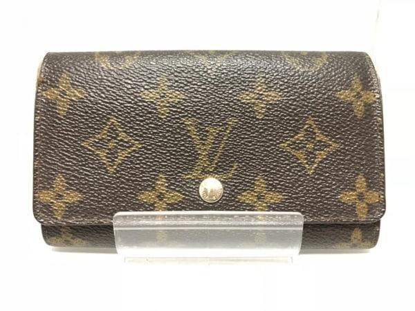 LOUIS VUITTON(ルイヴィトン) 2つ折り財布 モノグラム ポルト モネ・ジップ M61735