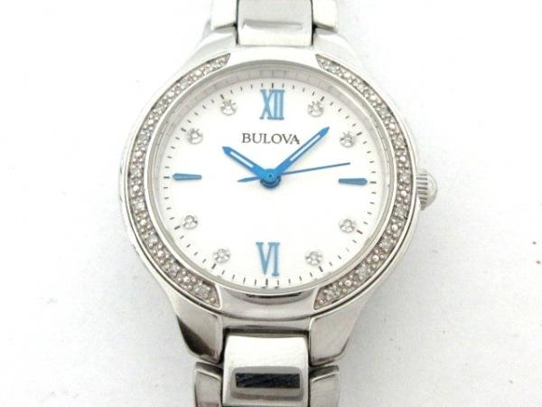 Bulova(ブローバ) 腕時計 C835346/96R208 レディース 白