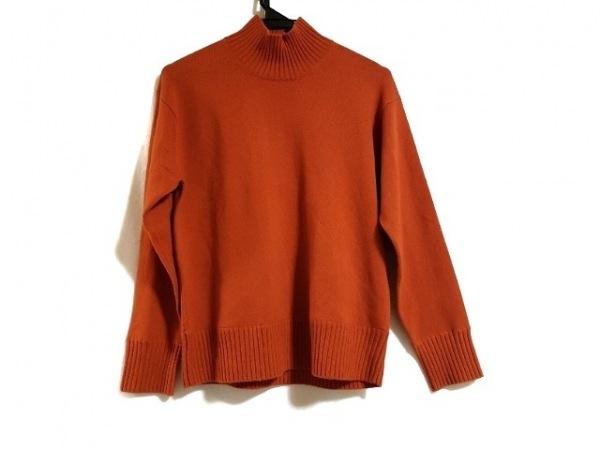 23区(ニジュウサンク) 長袖セーター サイズ38 M レディース オレンジ ハイネック