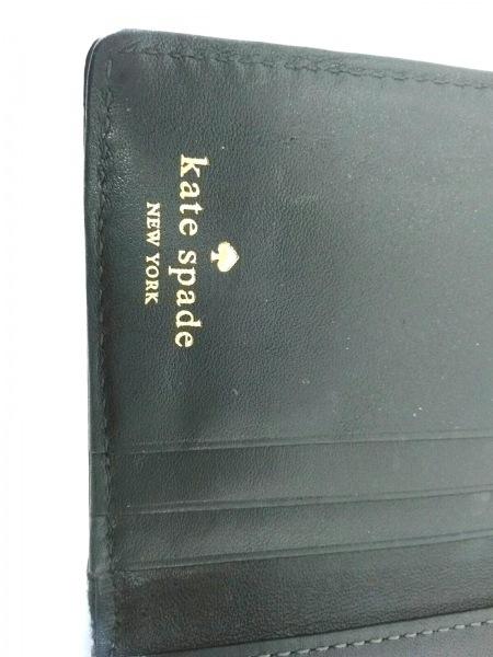 Kate spade(ケイトスペード) パスケース ゴールド レザー 4