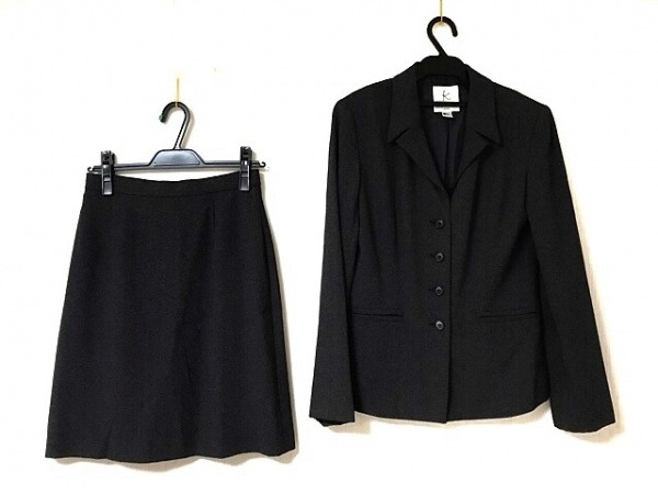 組曲 KUMIKYOKU(クミキョク) スカートスーツ レディース ダークグレー
