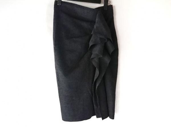 Max Mara(マックスマーラ) スカート サイズ40 M レディース ダークグレー