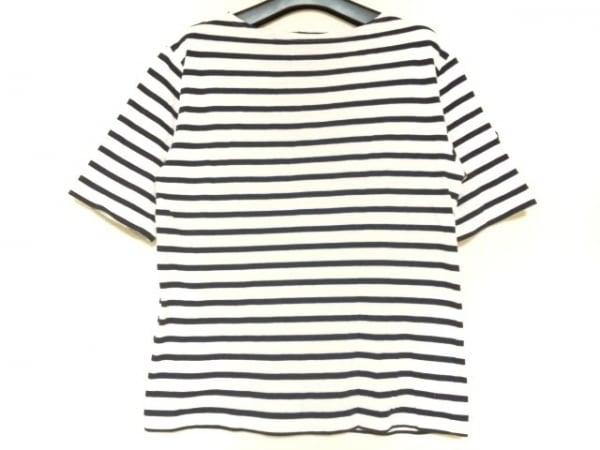 SAINT JAMES(セントジェームス) 半袖Tシャツ サイズXS レディース 白×ダークネイビー