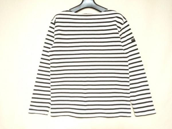 SAINT JAMES(セントジェームス) 長袖Tシャツ サイズXS レディース美品  白×黒