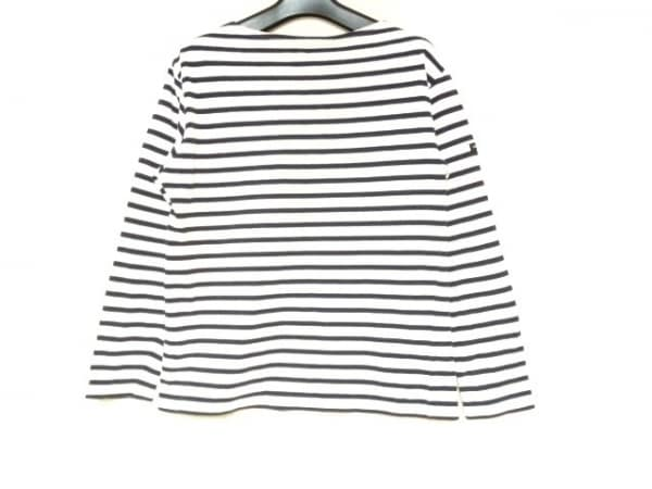 SAINT JAMES(セントジェームス) 長袖Tシャツ サイズXS レディース 白×ダークネイビー