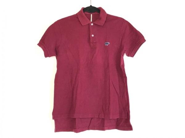 SCYE(サイ) 半袖ポロシャツ サイズ38 M メンズ ボルドー