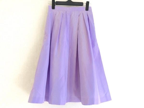 JUSGLITTY(ジャスグリッティー) スカート サイズ0 XS レディース美品  パープル