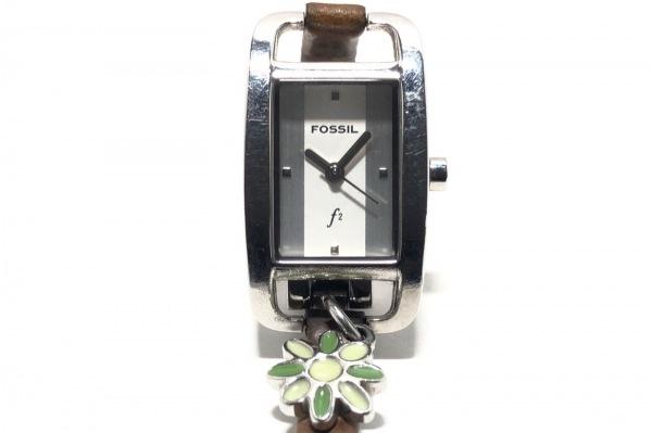 FOSSIL(フォッシル) 腕時計 ES-1067 レディース 白
