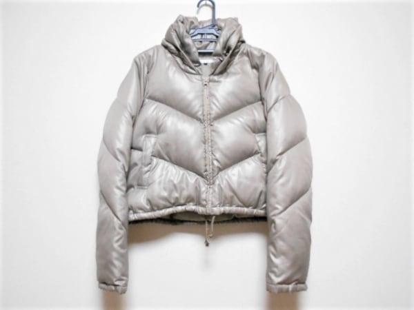 アンシャントマン ダウンジャケット サイズ40 M レディース ライトブラウン 冬物