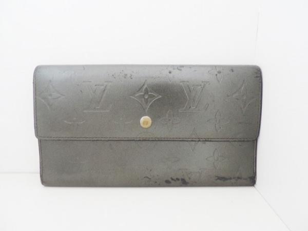 ルイヴィトン 長財布 モノグラムマット ポルトトレゾール・インターナショナル M65102