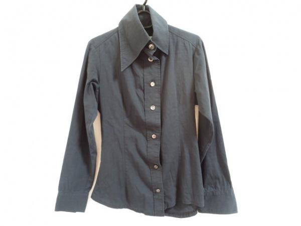MARTIN MARGIELA(マルタンマルジェラ) 長袖シャツ サイズ40 S メンズ ダークネイビー