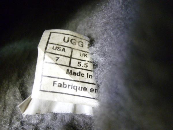 UGG(アグ) 靴 レディース スカフェット 黒 ムートン