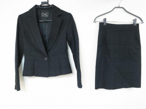 CdeC COUP DE CHANCE(クードシャンス) スカートスーツ サイズ38 M レディース美品  黒