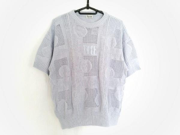FICCE(フィッチェ) 半袖セーター メンズ ライトブルー