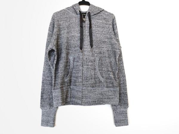 Cloth&Cross(クロス&クロス) パーカー レディース美品  ダークグレー