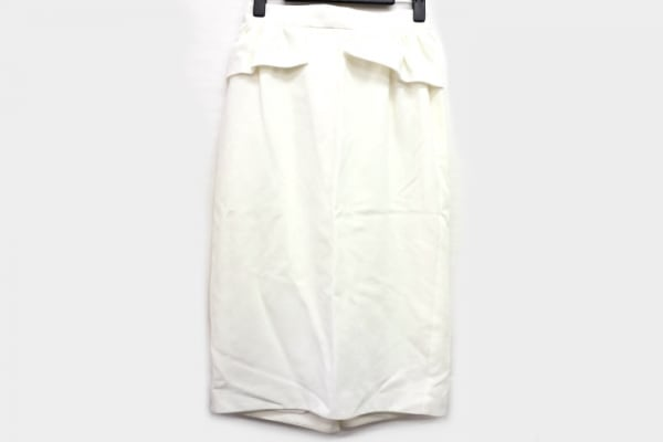 sakayori(サカヨリ) スカート サイズ36 S レディース美品  白 フリル