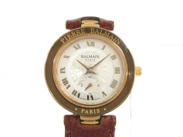 BALMAIN(バルマン) 腕時計 733-104 レディース 革ベルト シルバー