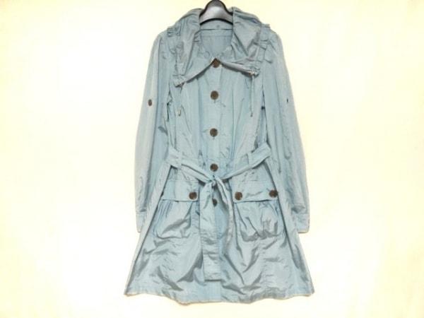 FRAGILE(フラジール) コート サイズ38 M レディース美品  ライトブルー 夏物