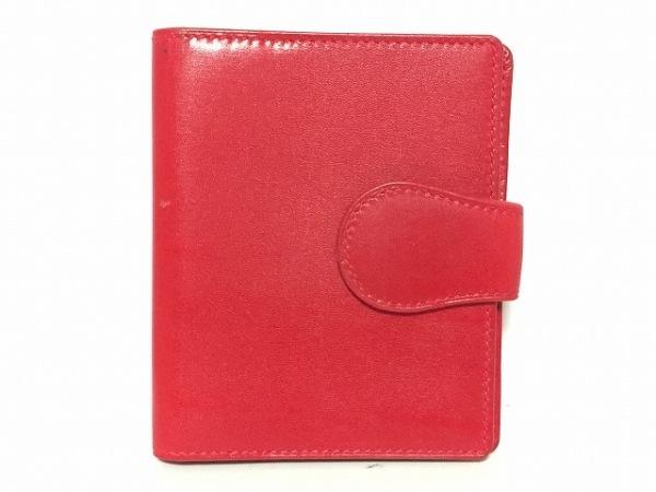 GUCCI(グッチ) カードケース - - レッド レザー