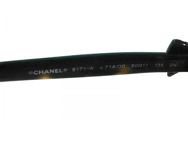 CHANEL(シャネル) サングラス 5171-A ブラウン×ダークブラウン×シルバー リボン