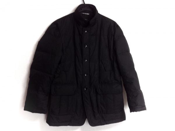 INTERMEZZO(インターメッツォ) ダウンジャケット サイズL メンズ 黒 冬物