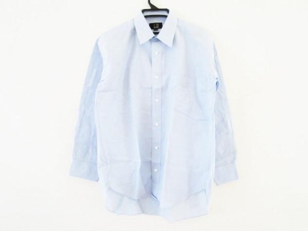 dunhill/ALFREDDUNHILL(ダンヒル) 長袖シャツ サイズ42-82 メンズ ライトブルー 麻混