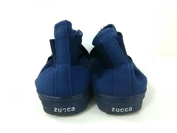 ZUCCA(ズッカ) シューズ レディース ブルー キャンバス