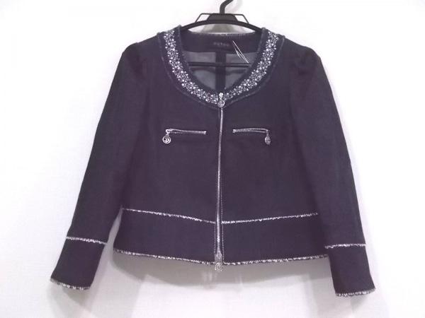 COTOO(コトゥー) ジャケット サイズ36 S レディース美品  ダークネイビー