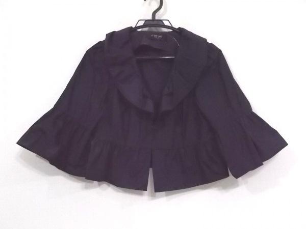 COTOO(コトゥー) ジャケット サイズ38 M レディース美品  ダークネイビー