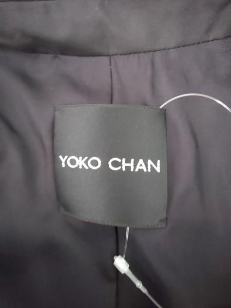 YOKO CHAN(ヨーコ チャン) コート サイズ38 M レディース 黒 春・秋物