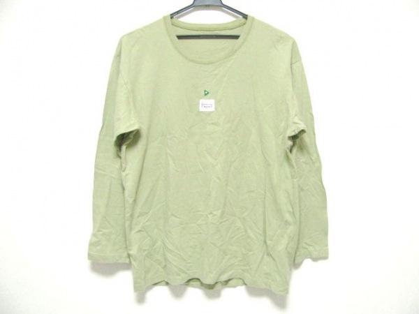 Papas(パパス) 長袖Tシャツ サイズS メンズ ダークグリーン