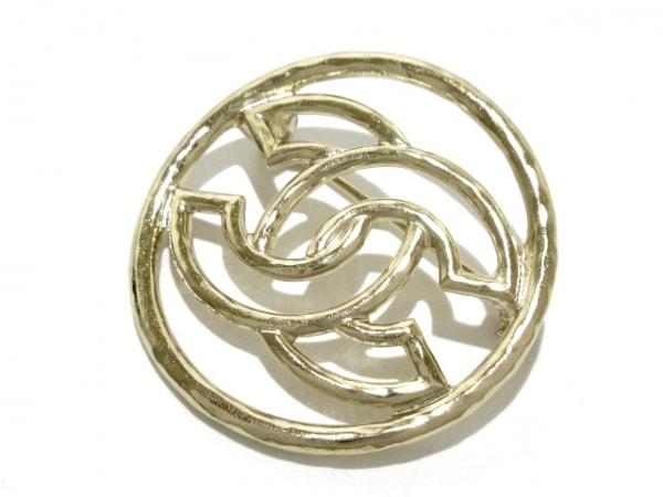 CHANEL(シャネル) ブローチ美品  金属素材 シルバー ココマーク