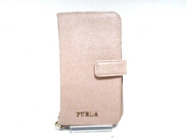 FURLA(フルラ) 携帯電話ケース ピンク レザー