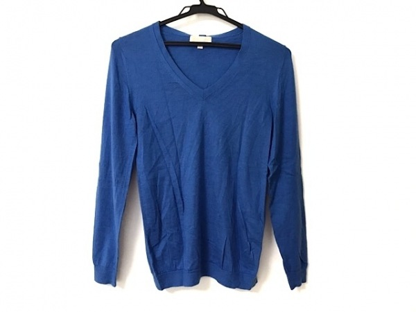 Drawer(ドゥロワー) 長袖セーター サイズ2 M レディース ブルー