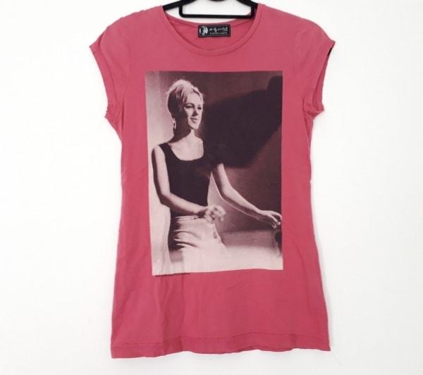 アンディ・ウォーホル バイ ヒステリックグラマー 半袖Tシャツ レディース ピンク