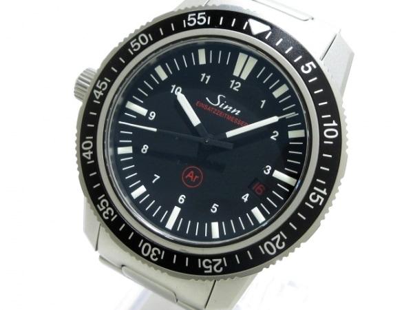 Sinn(ジン) 腕時計美品  603.EZM3 メンズ SS 黒