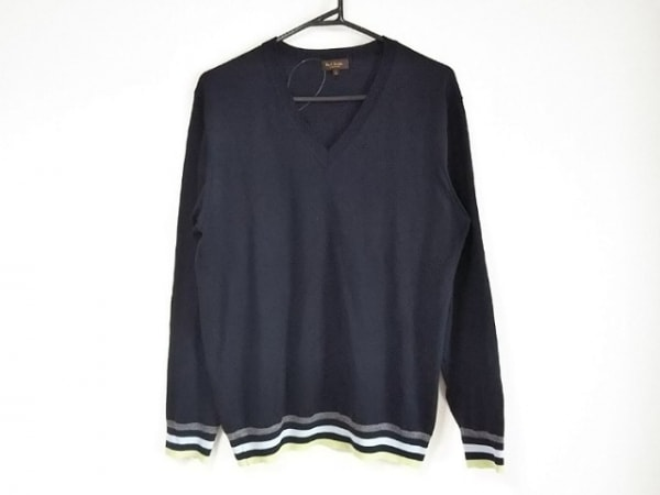 PaulSmith(ポールスミス) 長袖セーター サイズL メンズ美品  Vネック/COLLECTION