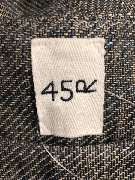 45R(フォーティーファイブ・アール) ワンピース レディース ネイビー×ベージュ