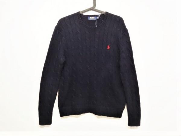 ポロラルフローレン 長袖セーター サイズXS レディース ダークネイビー