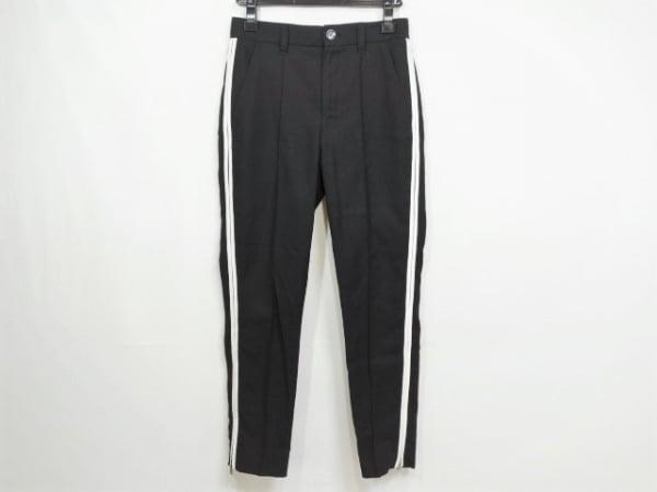 DIESEL(ディーゼル) パンツ サイズ24 レディース 黒×白