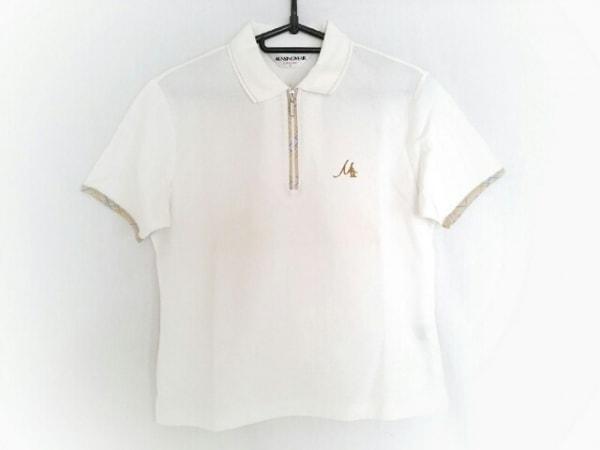 Munsingwear(マンシングウェア) 半袖カットソー サイズM レディース 白×マルチ