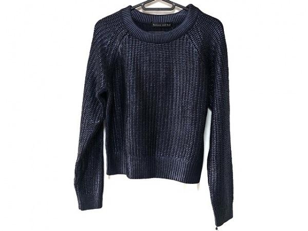 バルコニーアンドベッド 長袖セーター サイズF レディース美品  ネイビー