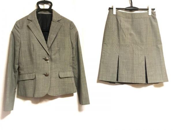 ru(アールユー) スカートスーツ サイズ2 M レディース 黒×白